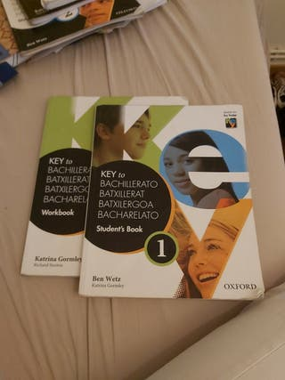libros inglés 1o bachillerato/batx
