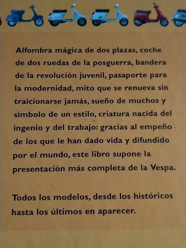 Atlas ilustrado de la VESPA Piaggio -libro ¡NUEVO!