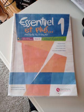 Libro francés ejercicios 1° ESO Essentiel et plus