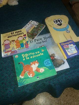 6 libros infantiles