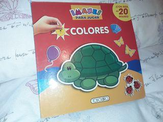 Libro infantil magnetico