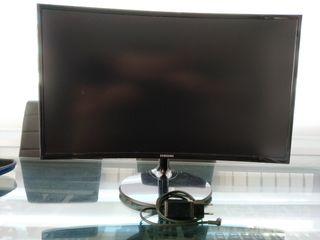 Monitor curvo Samsung 27 pulgadas