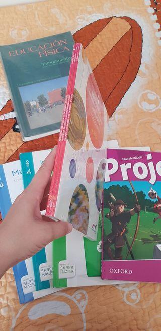 libros de texto de 4° de la ESO