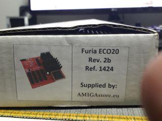 Aceleradora FURIA para Amiga 600