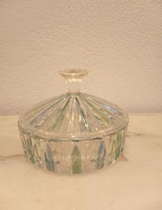 antigua bombonera de cristal