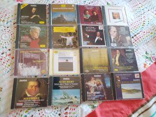 colección de 16 CD de música clásica variada