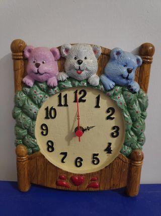 Reloj de pared para habitación infantil