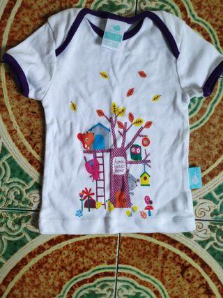 camiseta bebé 12/18