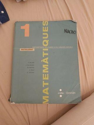 libro mates 1o bachillerato/batx