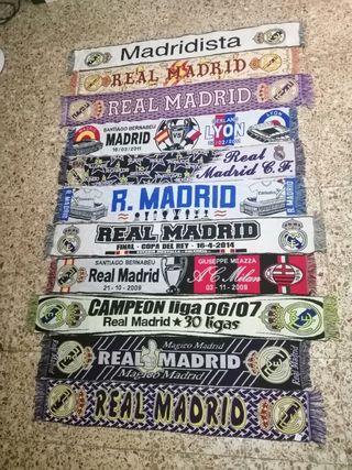 Bufandas Futbol Real Madrid