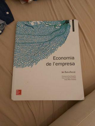 libro economia de empresa 2o bachillerato/batx