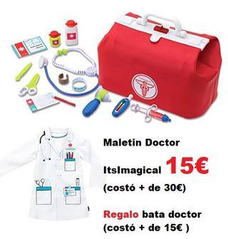 Maletin doctor 2aMANO + bata de regalo