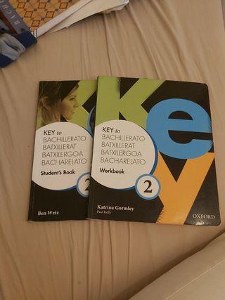 libros inglés 2o bachillerato/batx
