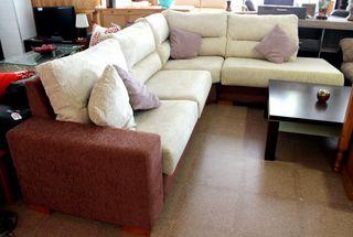 Sofá chaiselongue en venta