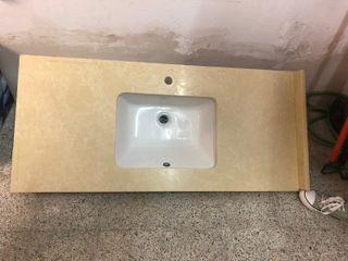 Pica encimera baño silestone