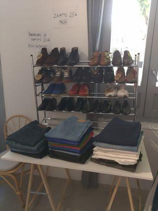 mercadillo ropa y zapatos seminuevas marcas lujo