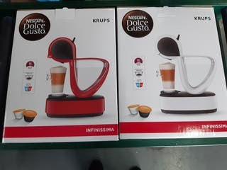 Cafetera Krups Dolce Gusto Infinissima manual