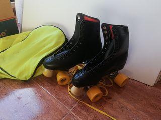 patines 4 ruedas. número 38