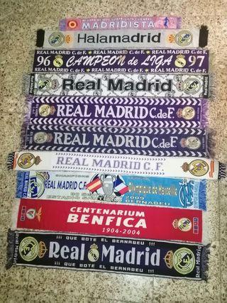 Bufandas Real Madrid Futbol