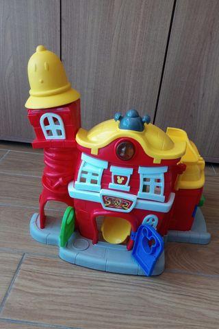 Estación bomberos Mickey Mouse