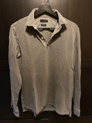 Jersey Fino Tipo Polo Massimo Dutti