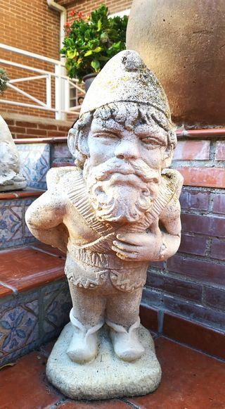 Estatua-Macetero GNOMO de piedra