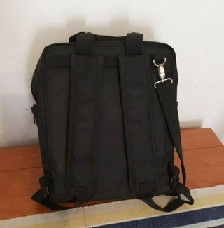 mochila bandolera portatil