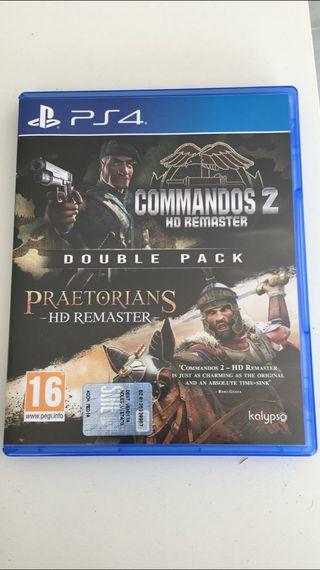 commandos 2 hd y pretorians ps4