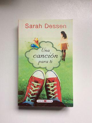 Novela Una canción para ti de Sarah Dessen