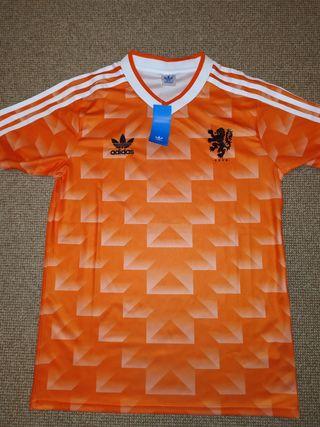 Camiseta Holanda Retro 1988