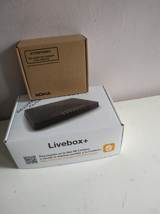 router livebox+ fibra