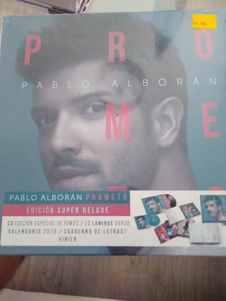 vinilo edición deluxe Pablo Alboran