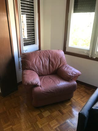 Sillón de piel sofa