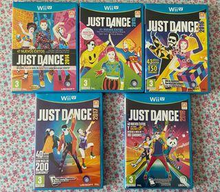 Juegos just dance para la Wii U