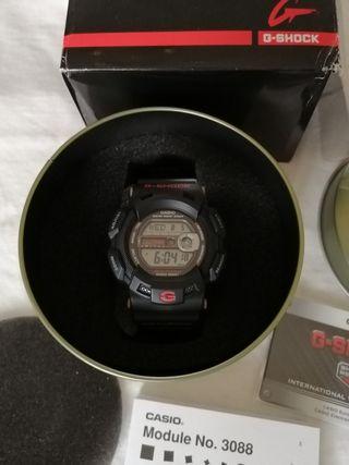 Reloj casio g shock gulfman G-9100-1ER nuevo