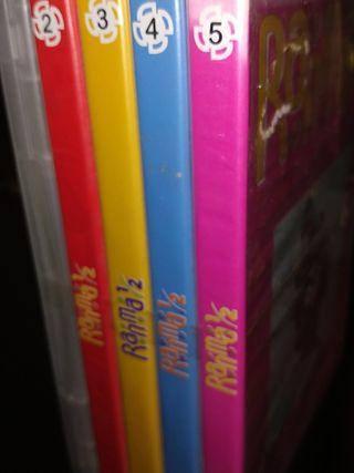 Pack de 5 dvds manga: RANMA ½ de RBA ¡¡NUEVOS!!