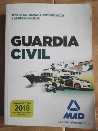 Oposiciones Guardia Civil 2018