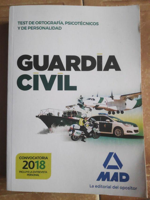 Oposiciones Guardia Civil 2018