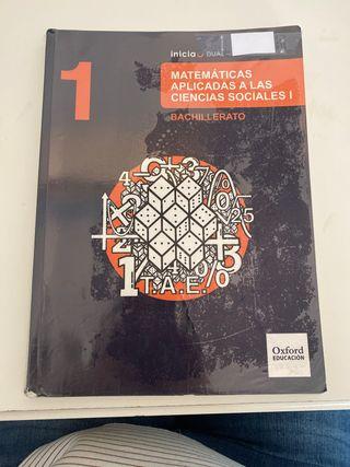 Libro de matemáticas ccss 1 bachillerato