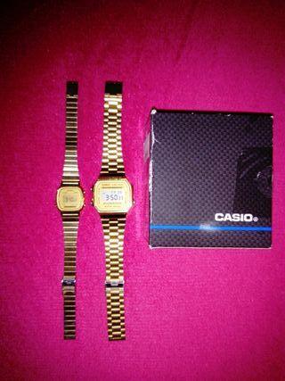 Juego de 2 relojes Casio