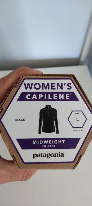 patagonia Capeline base layer talla L mujer