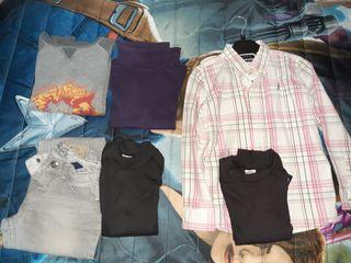 9 prendas ropa niño 6 años.