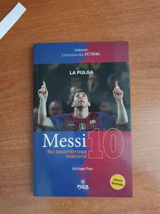 Libro Messi: su asombrosa historia