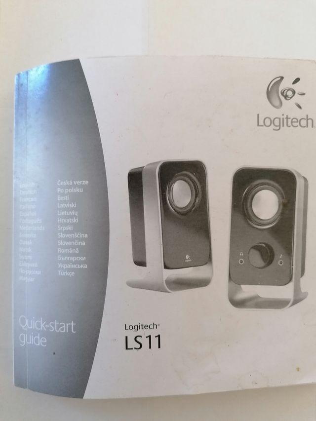 Altavoces Logitech PC