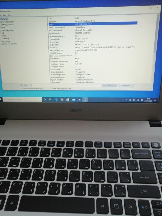 Acer aspire E5-473