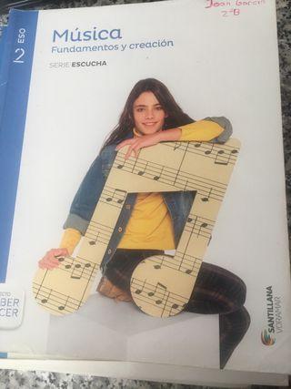 Libro de texto de Música 2 ESO