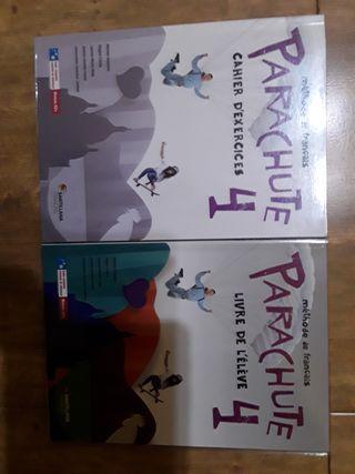 libro de texto francés Parachute 4°ESO