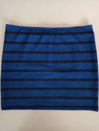 Falda / Minifalda Rayas de Tubo