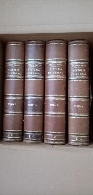 Historia Universal. césar Cantu 1874