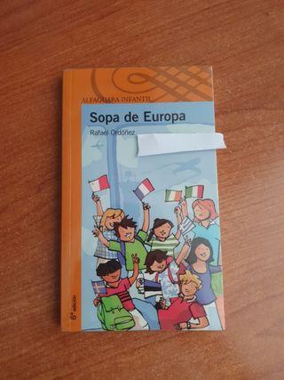 Sopa de Europa ed. Alfaguara infantil